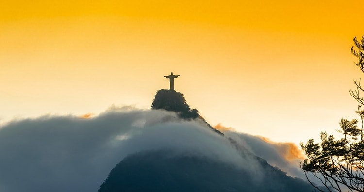Лучшие достопримечательности мира. Статуя Христа Спасителя