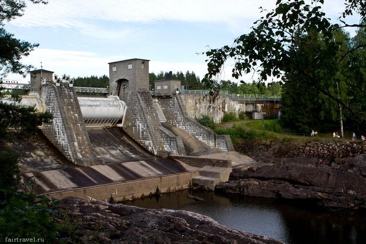 И?матранкоски (Imatrankoski) - водоскат в Финляндии