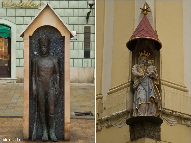 Забавные памятники Братиславы