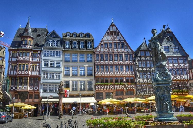 Франкфурт-на-Майне. Город в Германии
