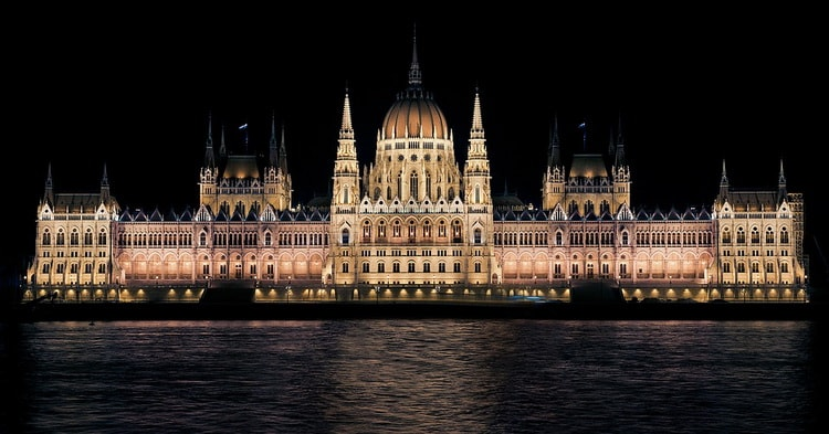 Достопримечательности Будапешта. Парламент