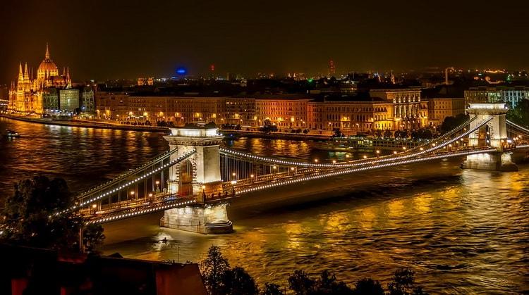 Достопримечательности Будапешта. Цепной мост