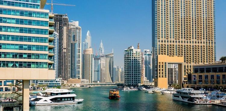 Дубай. Дубайская бухта