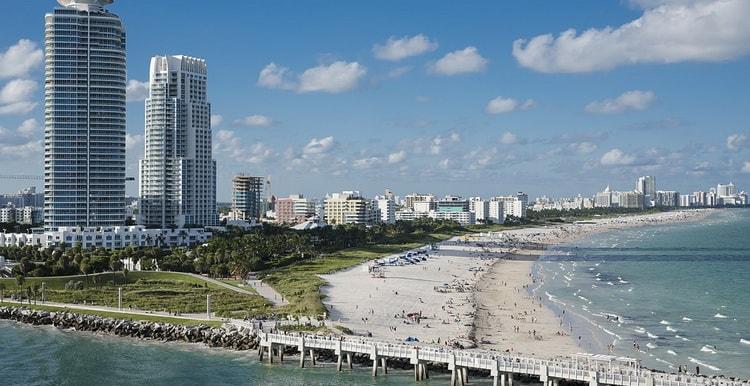 Майами - штат Флорида. Отдых. Пляжи