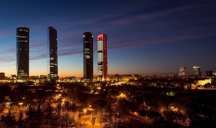 Мадрид, города Испании