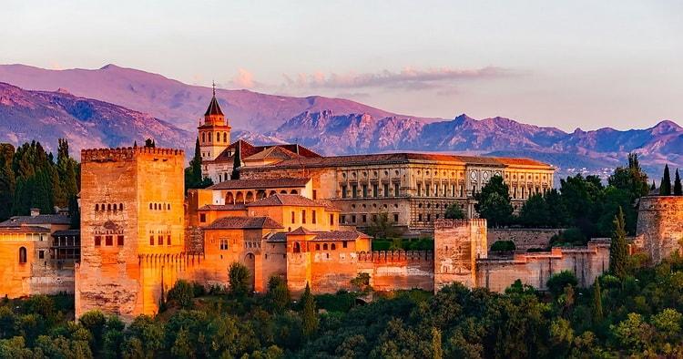 Гранада. города Испании