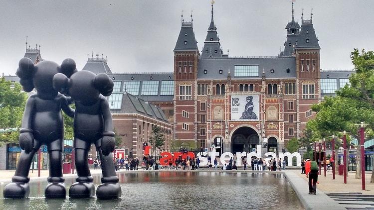 Амстердам - столица Голландии