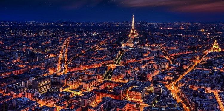 Достопримечательности Франции. Эйфелева башня