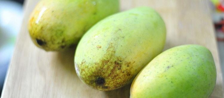 Манго. Экзотические фрукты Барселоны