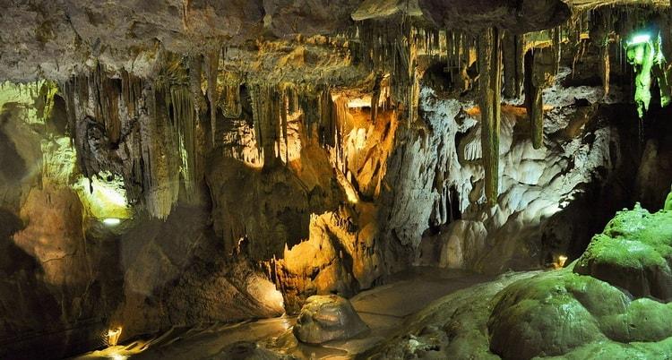 Пещеры Обир. Каринтия