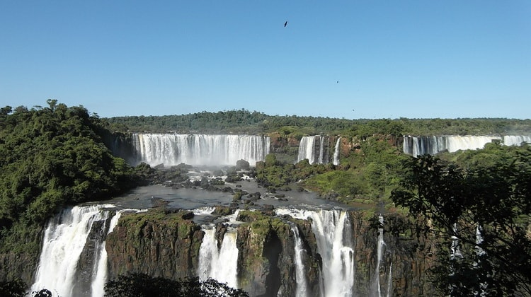 Водопад Игуасу, Южная Америка