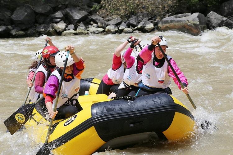 Сплавы по реке, как способ отдохнуть!
