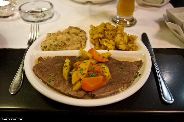 Гастрономическая Вена. Еда, фото-отчёт.