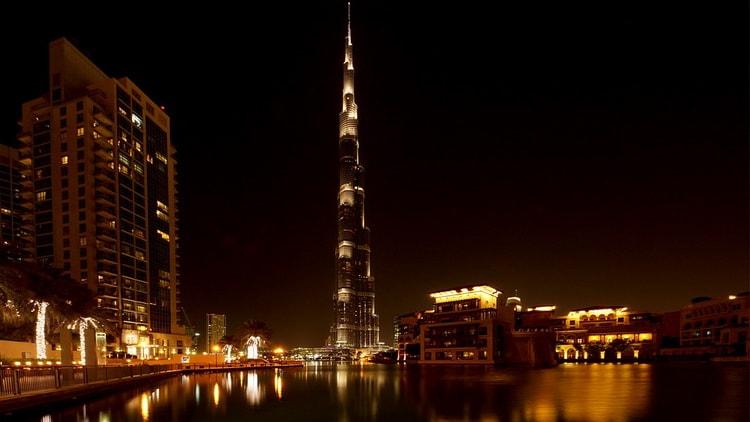 Дубаи. Бурдж-Халифа