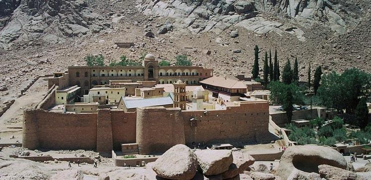 Шарм Эш Шейх, Гора Моисея