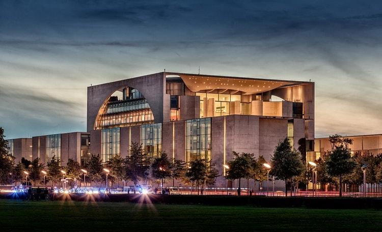 Германия - достопримечательности,Федеральная канцелярия