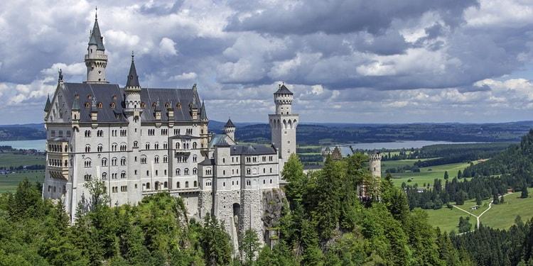 Достопримечательности Германии, замок Нойшванштайн