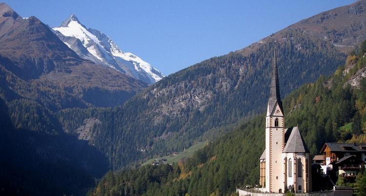 Каринтия - самая южная федеральная земля Австрии