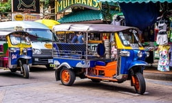 Что такое тук-тук в Тайланде?