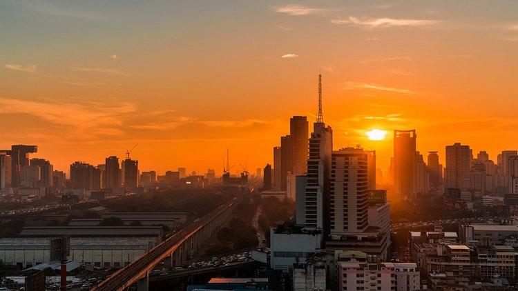 Бангкок многоликий город. Baiyoke Sky