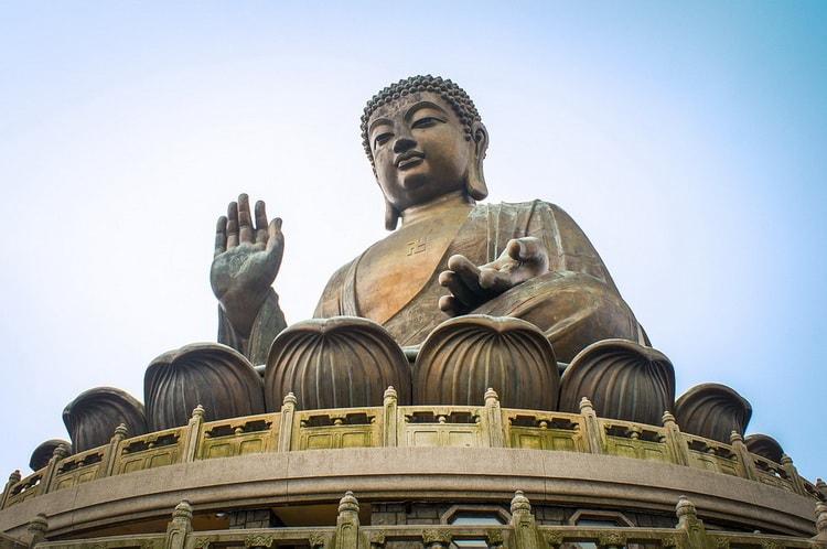 Монастырь острова Лантау. Гонконг