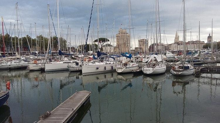 Ла-Рошель. Франция. Город-курорт в Бискайском заливе.