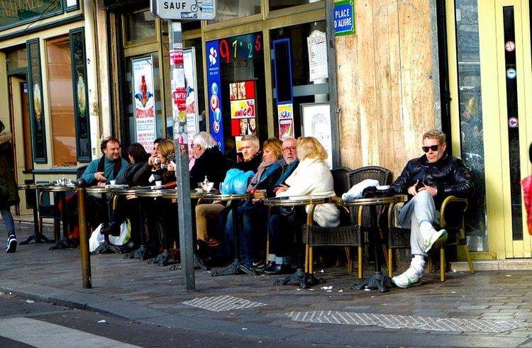 Парижские кафе. Часть культуры Франции